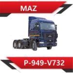 MAZ P 949 V732 2 150x150 - MAZ(МАЗ) EDC17CV44 P-949-V791 ADBLUE OFF FULL CRC OK