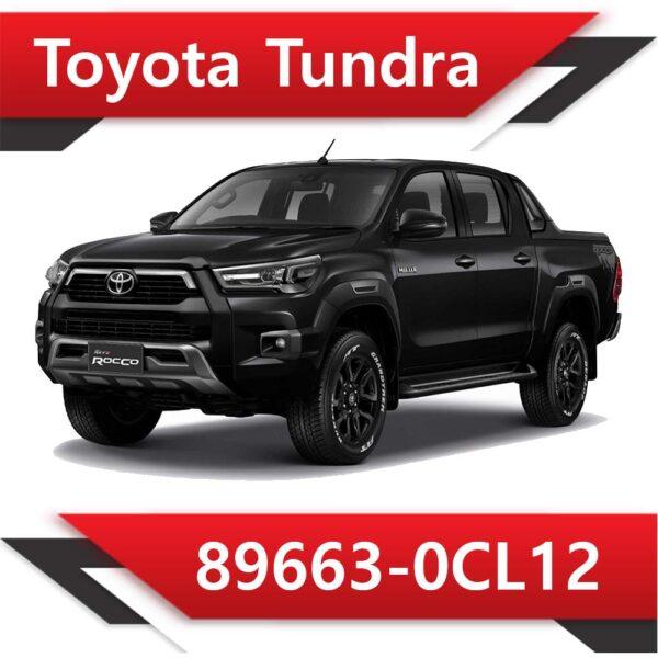 89663 0CL12 600x600 - Toyota Tundra 89663-0CL12 Stock