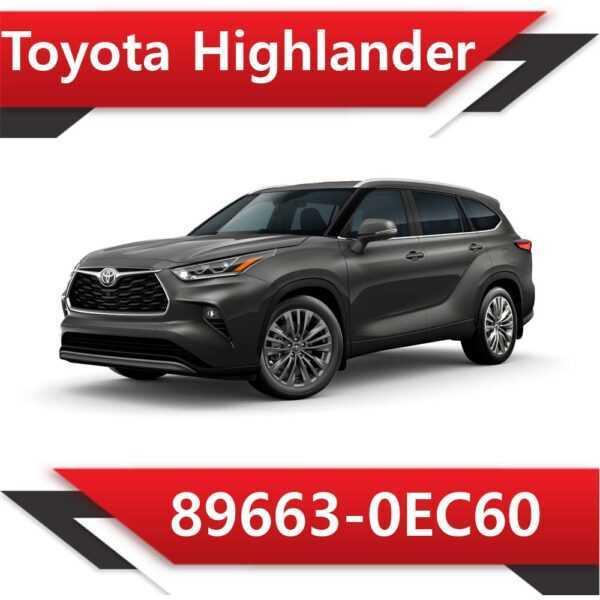 89663 0EC60 600x600 - Toyota Highlander 89663-0EC60 Stock