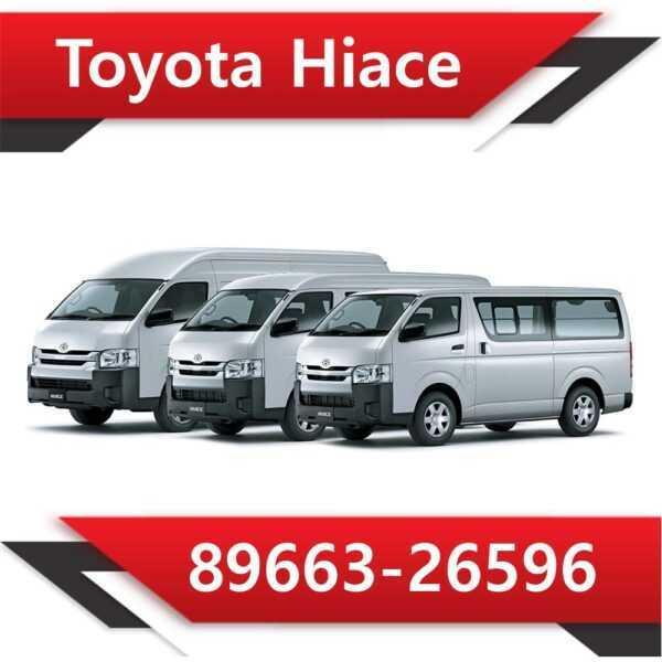89663 26596 600x600 - Toyota Hiace 89663-26596 Tun Stage1 EGR DPF off