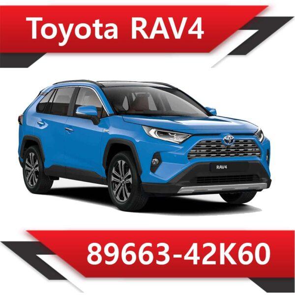 89663 42K60 600x600 - Toyota Rav4 89663-42K60 Tun E2