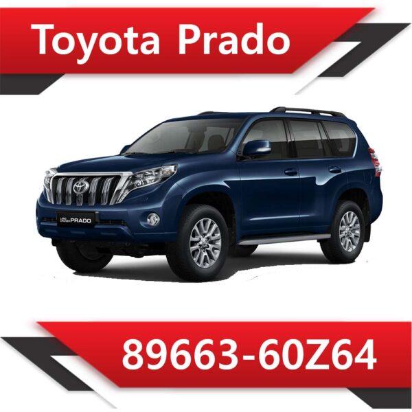 89663 60Z64 600x600 - Toyota Land Cruiser Prado 2.8 TD 89663-60Z64 Tun Stage1 EGR DPF Adblue off