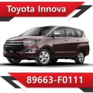 89663 F0111 2 300x300 - Toyota Innova 89663-F0113 Tun Stage1 EGR off