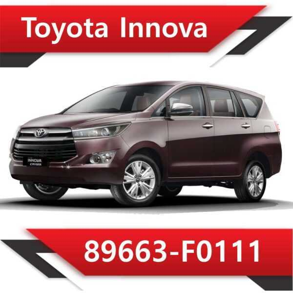 89663 F0111 2 600x600 - Toyota Innova 89663-F0113 Tun Stage1 EGR off