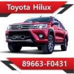 89663 F0431 150x150 - Toyota Hilux 2.4 89663-F0430 TUN STAGE1 EGR DPF OFF