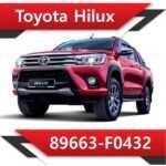 89663 F0432 150x150 - Toyota Hilux 2.4 89663-F0433 EGR DPF off