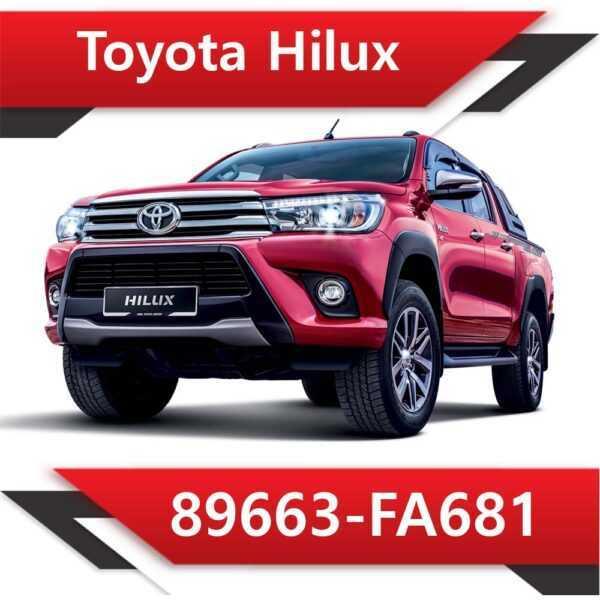 89663 FA681 600x600 - Toyota Hilux 89663-FA681 Tun Stage1 EGR DPF off