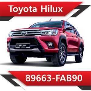 89663 FAB90 300x300 - Toyota Hilux 89663-FAB90 Tun Stage2 EGR DPF off