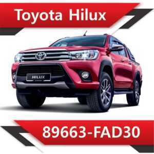 89663 FAD30 300x300 - Toyota Hilux 89663-FAD30 Tun Stage2 EGR DPF off