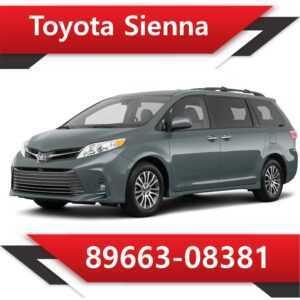89663 08381 300x300 - Toyota Sienna 89663-08381 Tun Stage1 E2 SAP EVAP