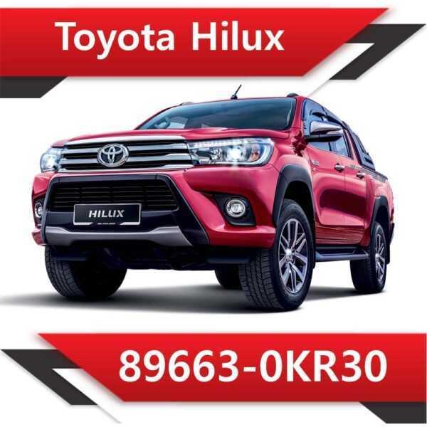 89663 0KR30 600x600 - Toyota Hilux TD 89663-0KR30 EGR DPF off