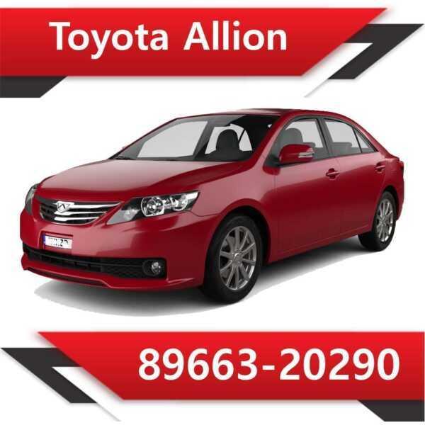 89663 20290 600x600 - Toyota Allion 89663-20290 Tun Stage1