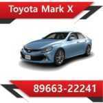 89663 22241 150x150 - Toyota Mark X 89663-22241 E2