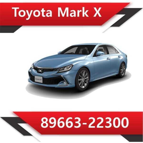 89663 22300 600x600 - Toyota Mark X 89663-22300 E2