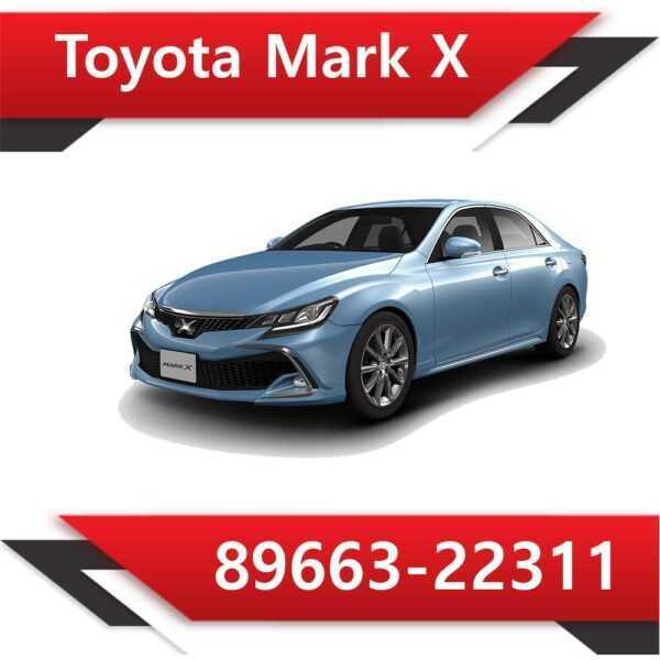 89663 22311 600x600 - Toyota Mark X 89663-22311 Tun Stage1 E2 SAP EVAP Vmax