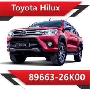 89663 26K00 300x300 - Toyota Hilux TD 89663-26K00 Tun Stage2 EGR DPF off Vmax