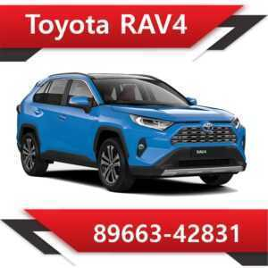 89663 42831 300x300 - Toyota Rav4 89663-42831 Tun E2