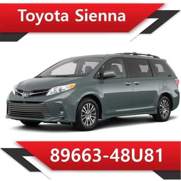 89663 48U81 600x600 - Toyota Sienna 89663-48U81 Tun Stage1