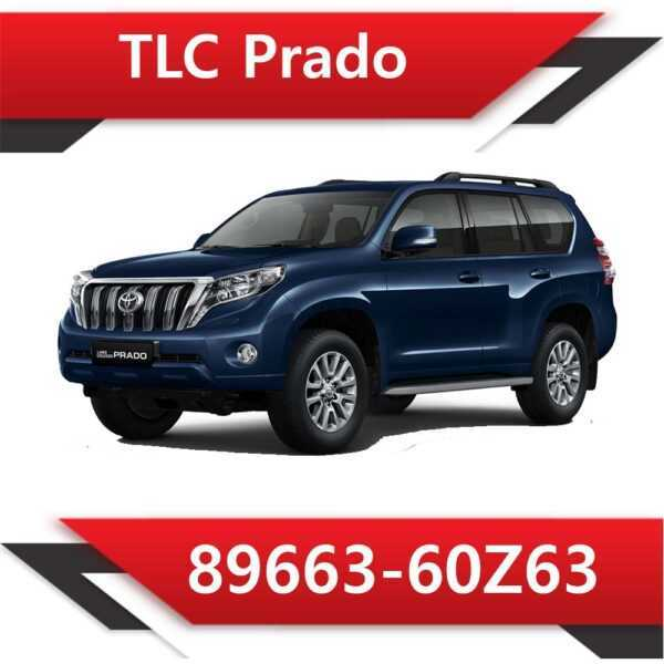 89663 60Z63 600x600 - Toyota Land Cruiser Prado 2.8 TD 89663-60Z63 Tun Stage2 EGR DPF off