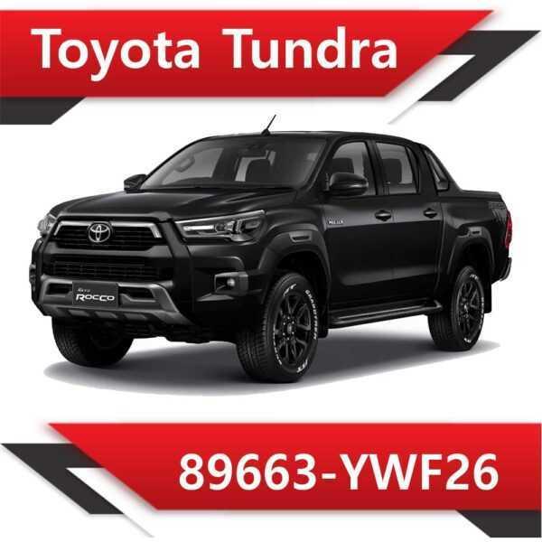 89663 YWF26 600x600 - Toyota Tundra 89663-YWF26 Tun Stage1 E2 Vmax Rev6000