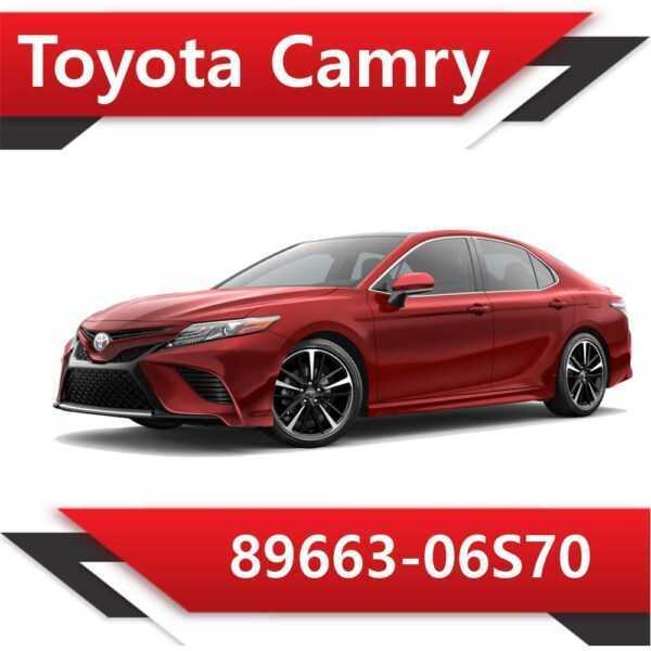 89663 06S70 600x600 - Toyota Camry 89663-06S70 Tun Stage1 Е2 Vmax
