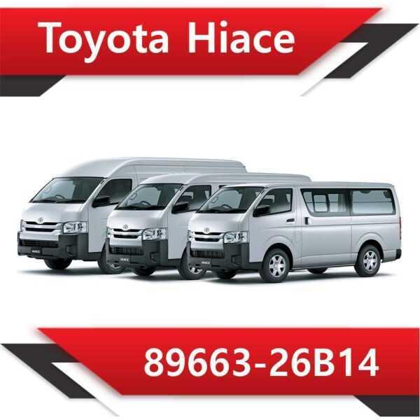 89663 26B14 600x600 - Toyota Hiace 89663-26B14 EGR DPF off