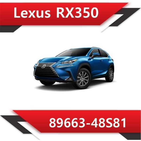 89663 48S81 600x600 - Lexus RX350 89663-48S81 E2 SAP EVAP