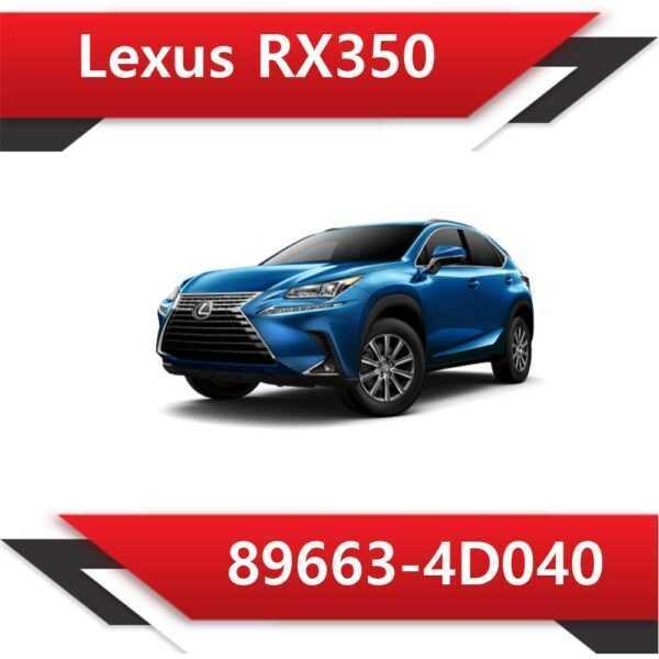 89663 4D040 600x600 - Lexus RX350 89663-4D040 Tun Stage1 E2 Vmax