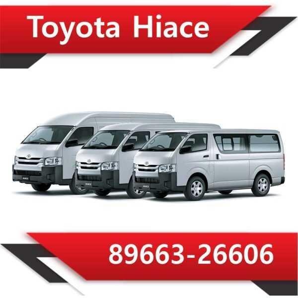 89663 26606 600x600 - Toyota Hiace 89663-26606 Tun Stage1 EGR DPF off