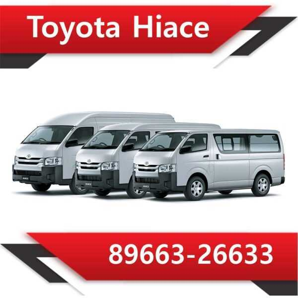89663 26633 600x600 - Toyota Hiace 89663-26633 Tun Stage1 EGR DPF off