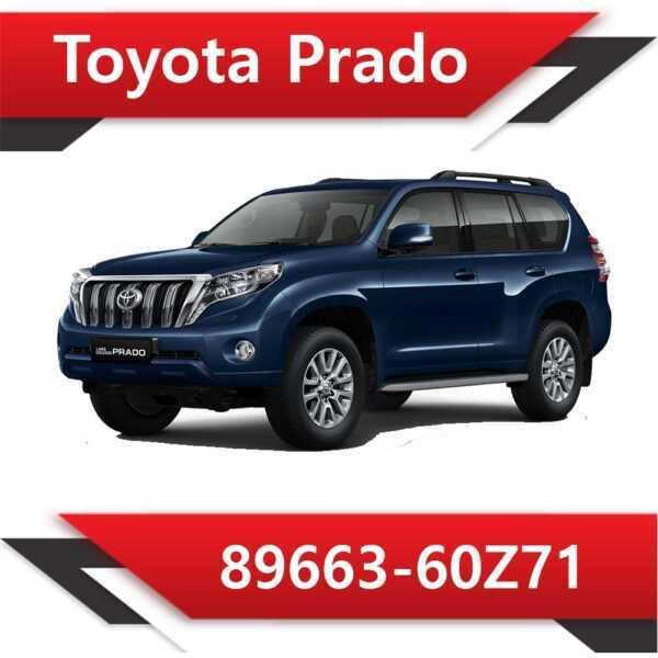 89663 60Z71 600x600 - Toyota Land Cruiser Prado 2.8 TD 89663-60Z71 Tun Stage1 EGR DPF off