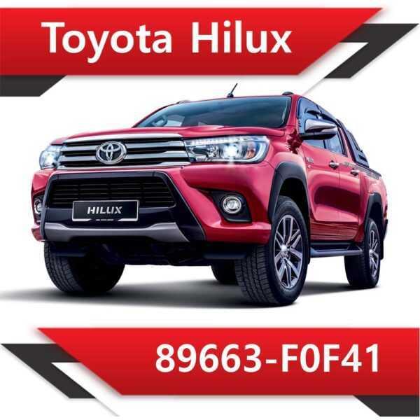 89663 F0F41 600x600 - Toyota Hilux 89663-F0F41 EGR off