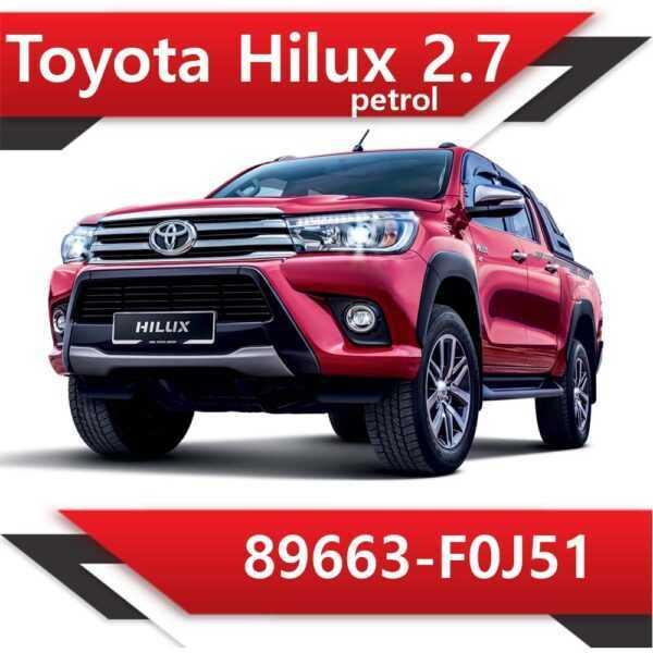 89663 F0J51 600x600 - Toyota Hilux 89663-F0J51 CAT off