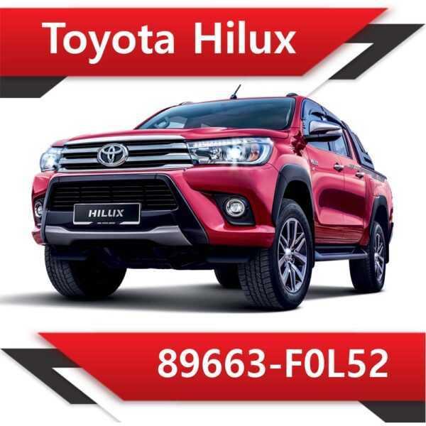 89663 F0L52 600x600 - Toyota Hilux 89663-F0L52 Tun Stage2