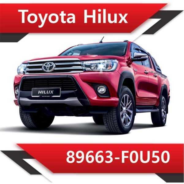 89663 F0U50 600x600 - Toyota Hilux 89663-F0U50 Tun Stage2 EGR off
