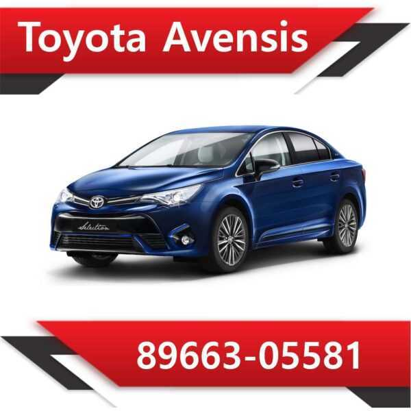 89663 05581 600x600 - Toyota Avensis 89663-05581 Tun Stage1 E2