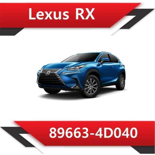 89663 4D040 600x600 - Lexus RX 89663-4D040 CAT off Vmax