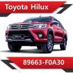 89663 F0A30 150x150 - Toyota Hilux 89663-FA030 EGR DPF off