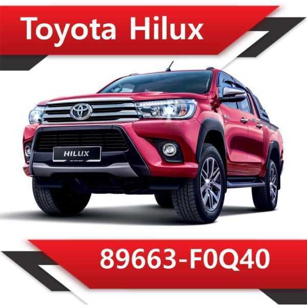 89663 F0Q40 600x600 - Toyota Hilux 89663-F0Q40 Stock