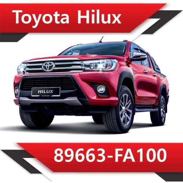 89663 FA100 600x600 - Toyota Hilux 89663-FA100 Tun Stage2 EGR DPF off