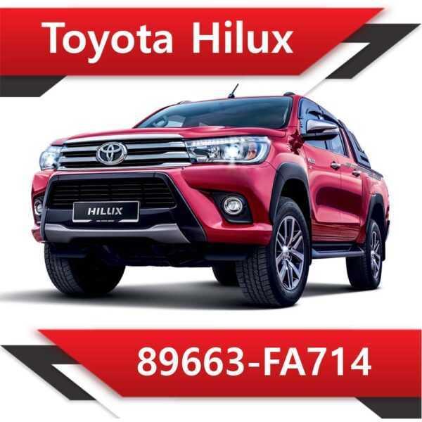 89663 FA714 1 600x600 - Toyota Hilux 89663-FA714 EGR off