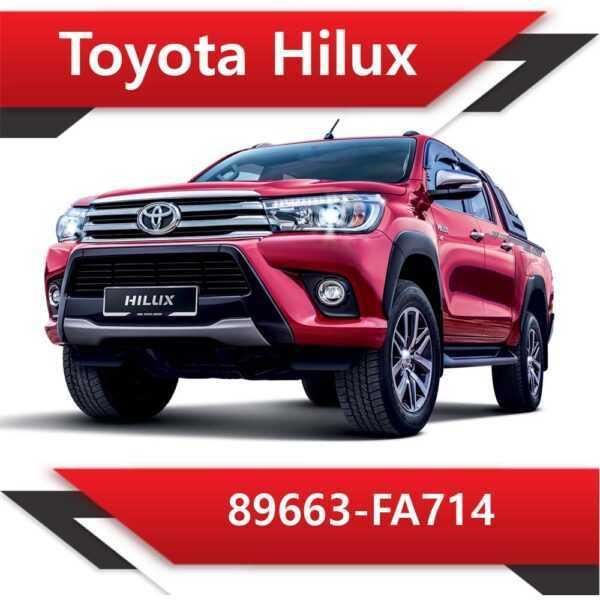 89663 FA714 600x600 - Toyota Hilux 89663-FA714 Stock