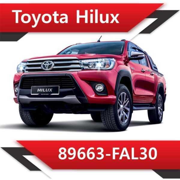 89663 FAL30 600x600 - Toyota Hilux 89663-FAL30 Tun Stage2 EGR DPF off