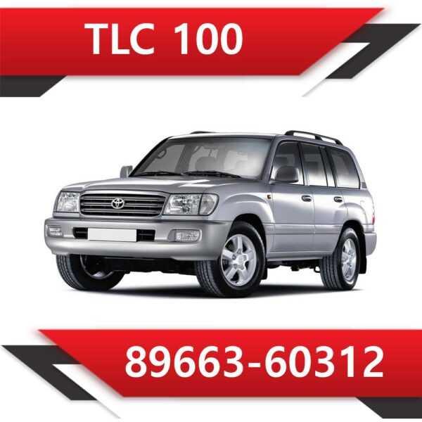 89663 60312 600x600 - Toyota Land Cruiser 100 89663-60312 Tun Stage1 CAT off