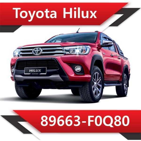 89663 F0Q80 600x600 - Toyota Hilux 89663-F0Q80 Tun Stage1