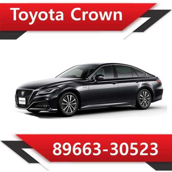 89663 30523 600x600 - Toyota Crown 89663-30523 Tun Stage1 CAT off Vmax