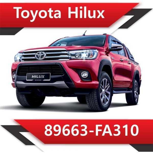 89663 FA310 600x600 - Toyota Hilux 89663-FA310 Tun Stage1 EGR DPF AdBlue off