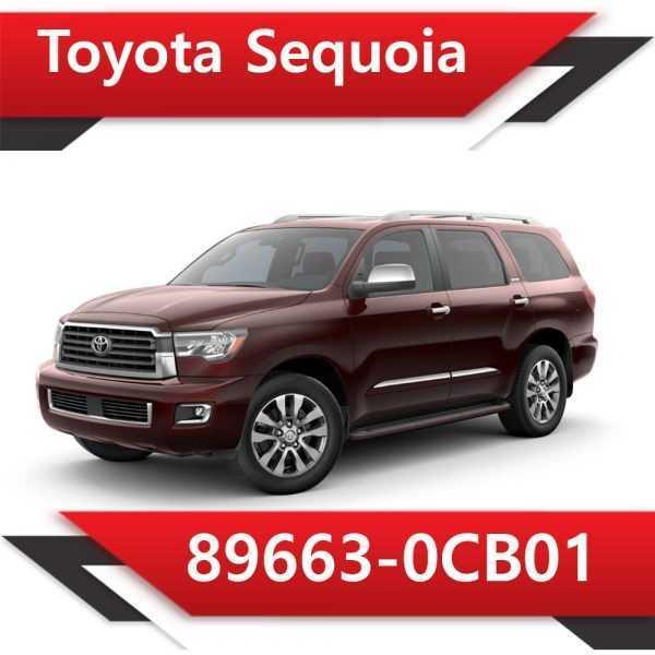 89663 0CB01 600x600 - Toyota Sequoia 89663-0CB01 CAT SAP off