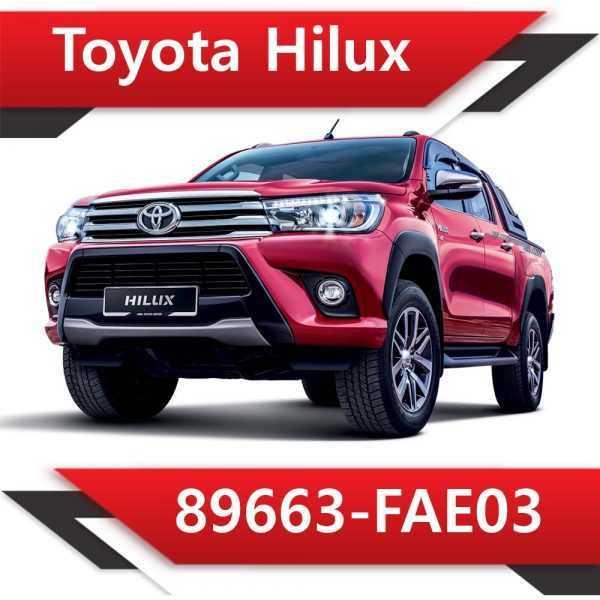 89663 FAE03 600x600 - Toyota Hilux 2.8 89663-FAE03 Tun Stage1