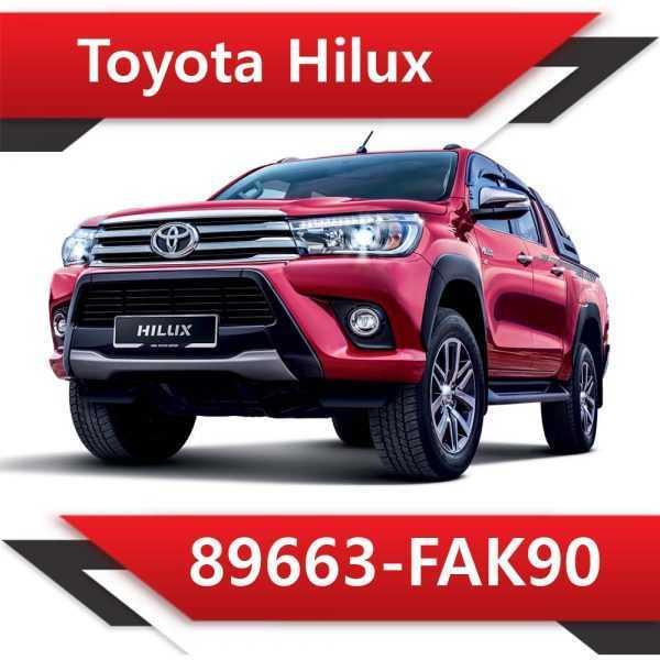 89663 FAK90 600x600 - Toyota Hilux 89663-FAK90 Tun Stage2 EGR DPF off